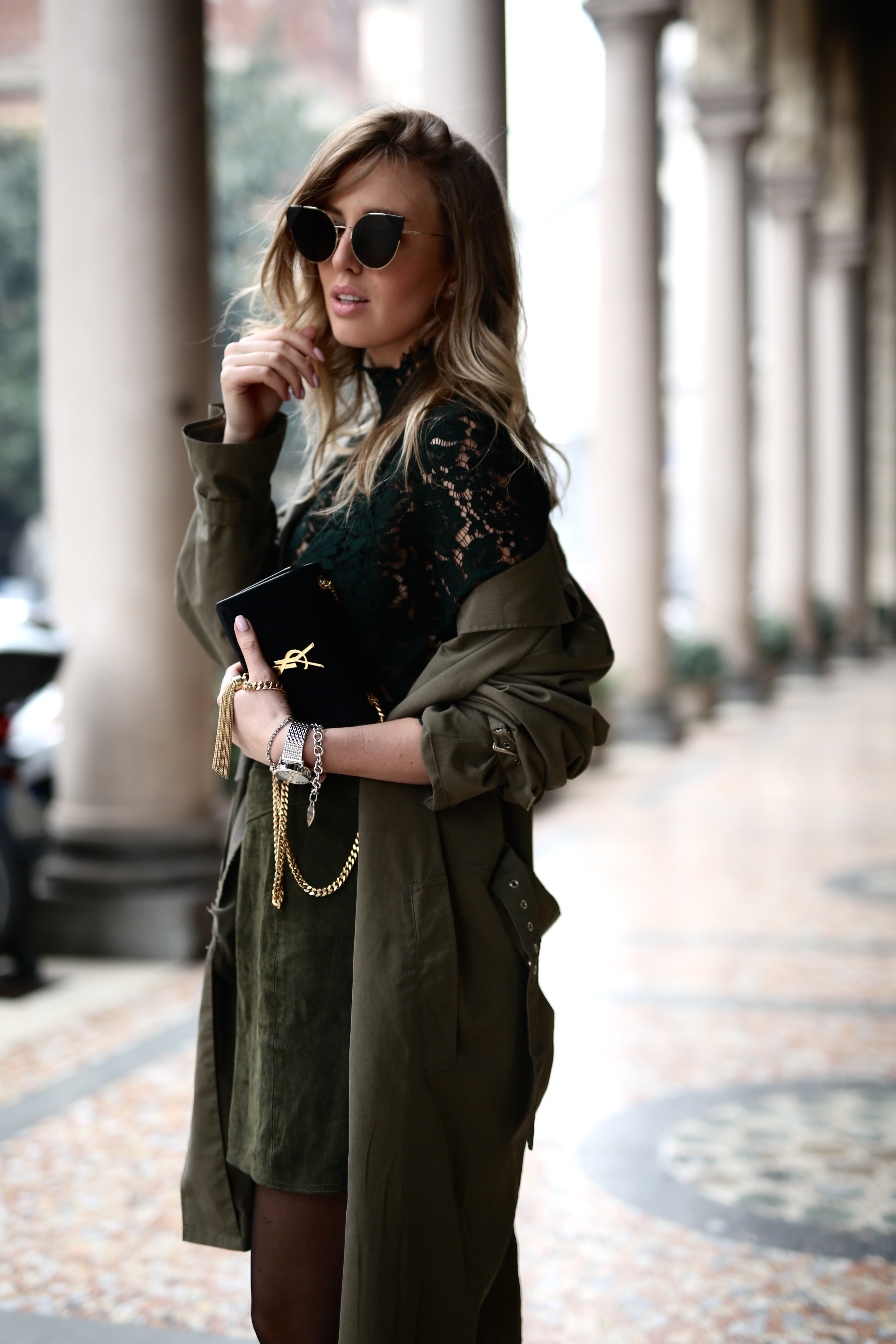 Milan fashion week all over khaki shoppisticated for When is fashion week over