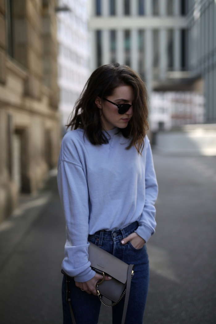 Blue, Outfit, Casual