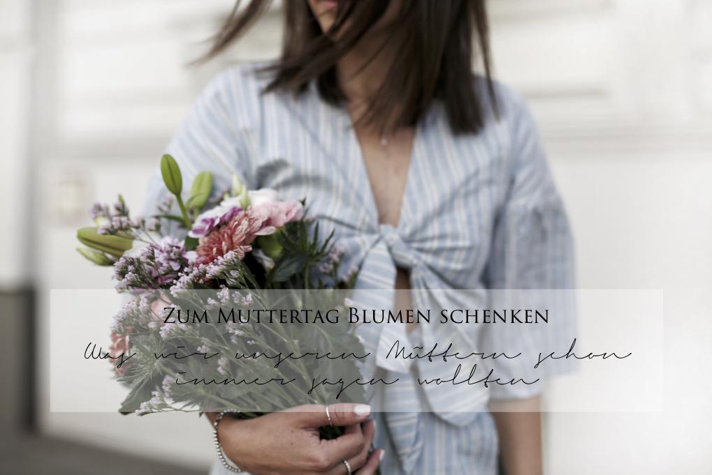 Blumen zum Muttertag verschenken