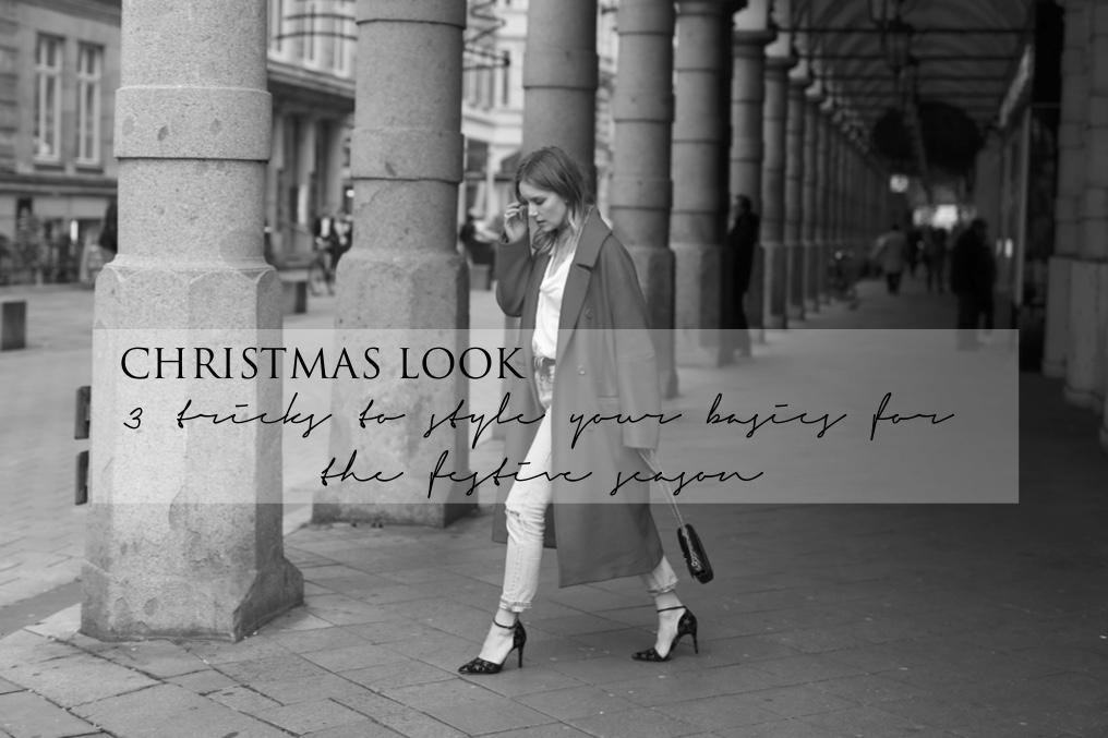 3 Tricks für den perfekten Weihnachtslook /Christmas look