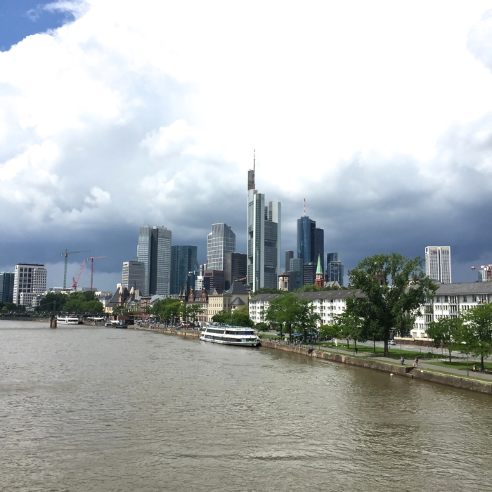 Frankfurt, Skyline, Main