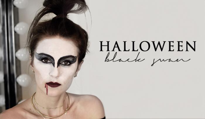 Halloween Schminken Deutsch.Halloween Makeup Black Swan Shoppisticated Fashionblog