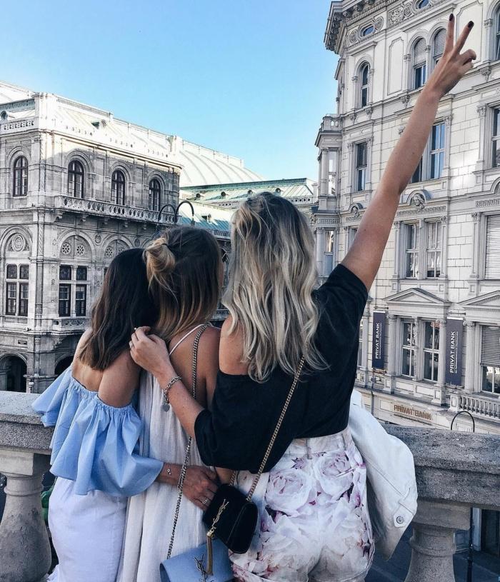 Bloggerinnen, Sommerkleidung