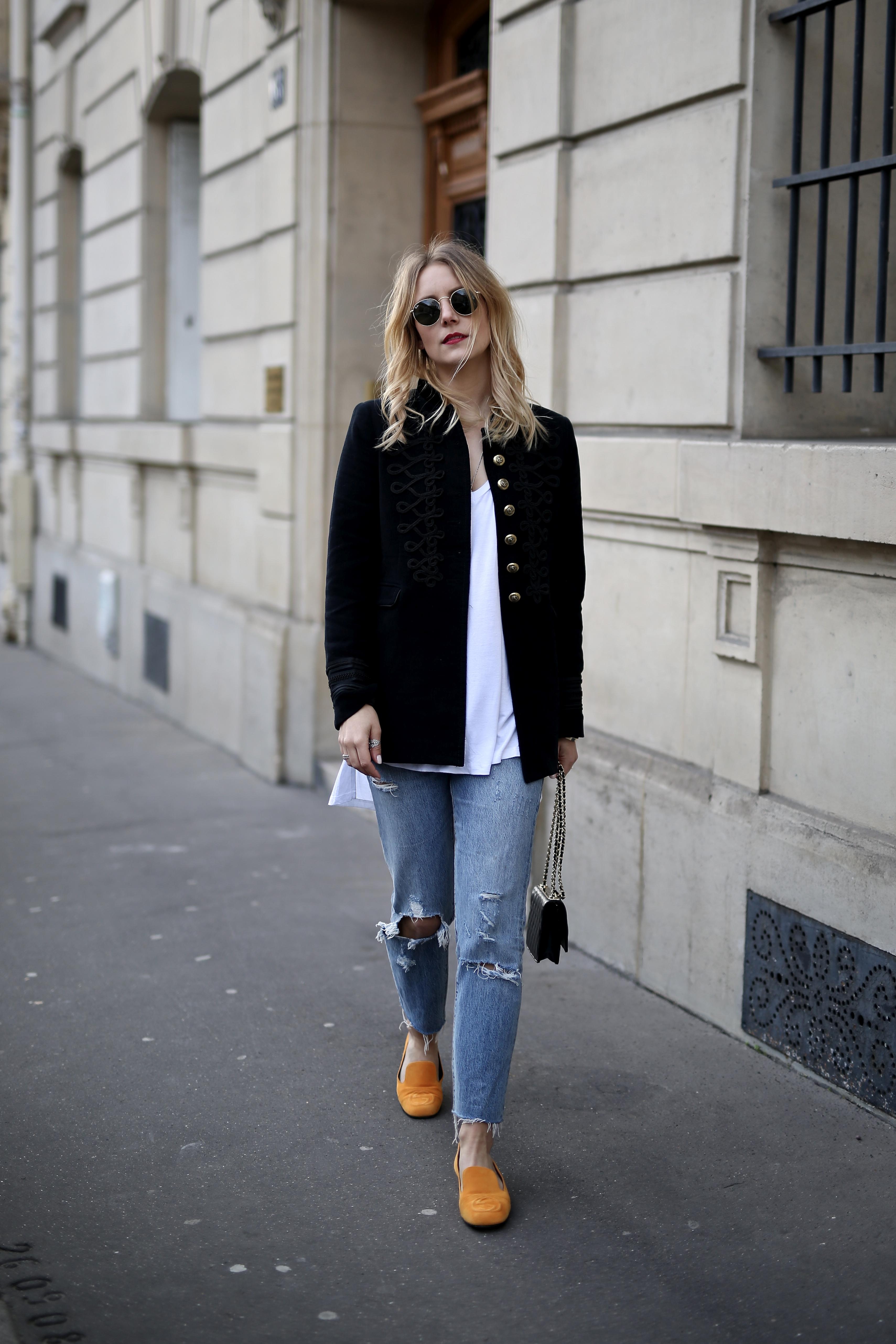 0f3bb66489f Paris Fashion Week Military Jacke - Shoppisticated