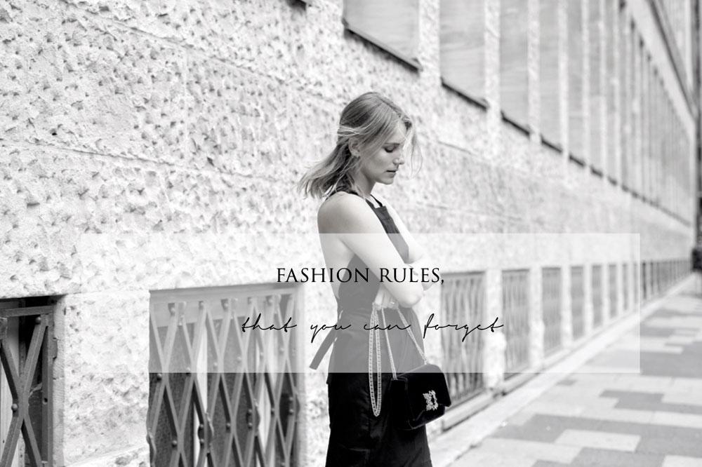 Veraltete Moderegeln die du vergessen kannst
