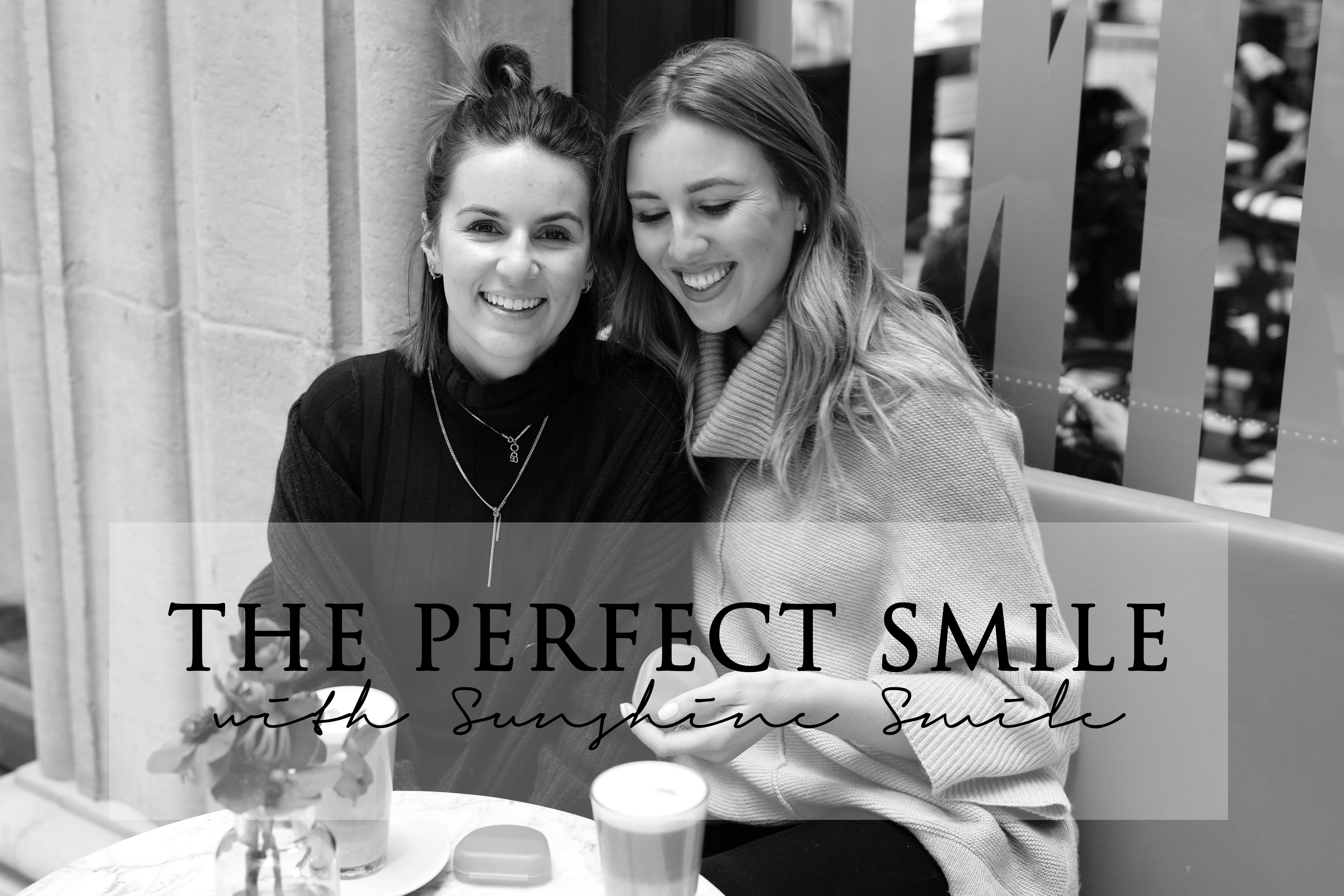 Lächeln gleich flirten