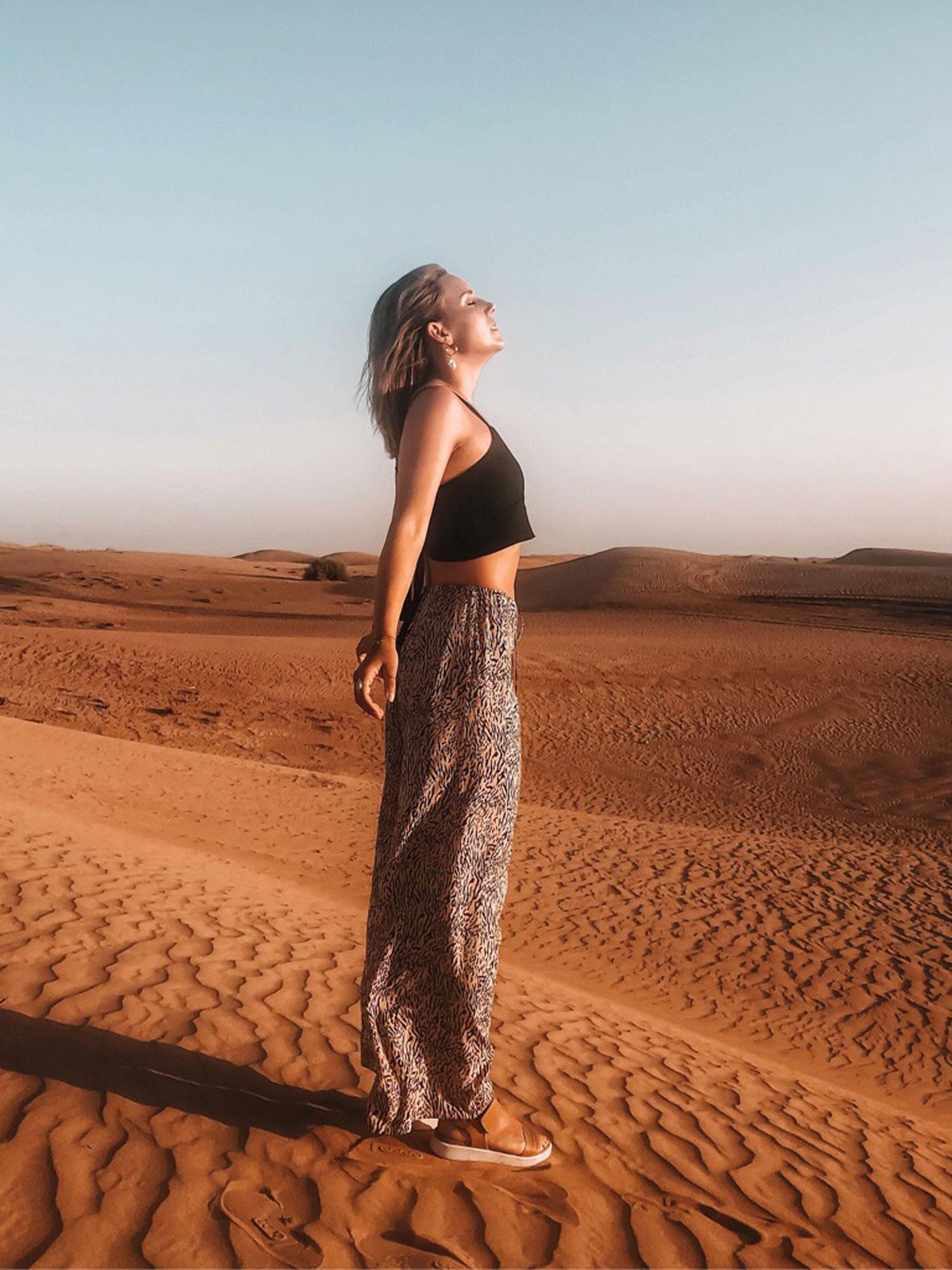 Dubai-Wüstensafari