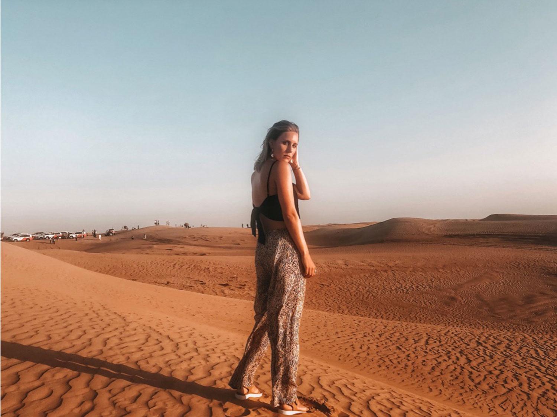 Wüsten-Outfit-Dubai