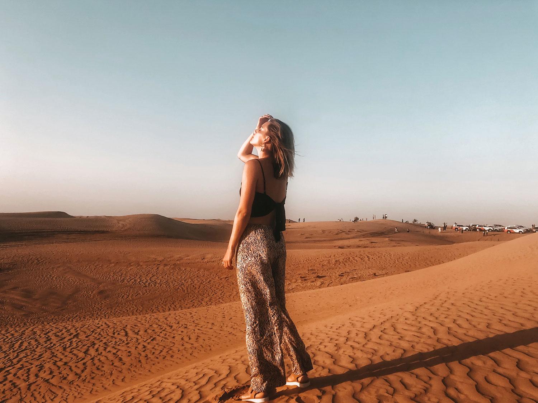 Wüste-Dubai