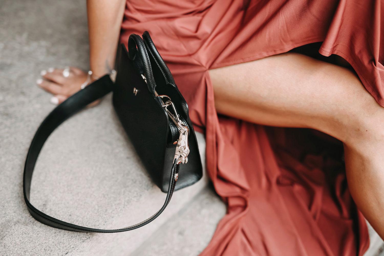 asymmetrisches Kleid H&M