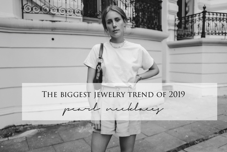 Schmuck Trend 2019_ Perlenkette