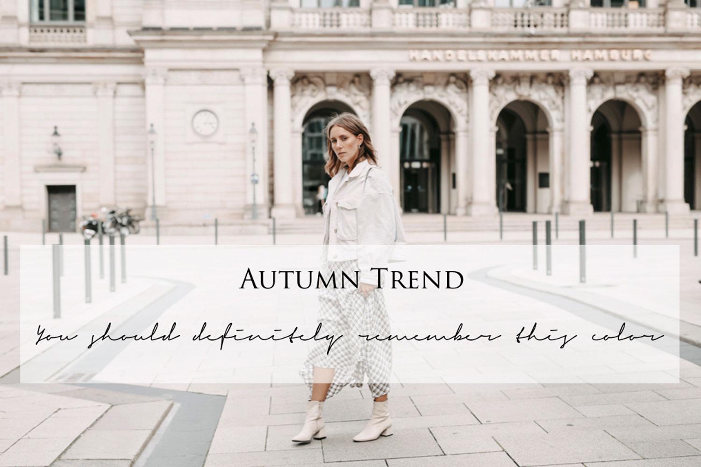 Trendfarbe für den Herbst