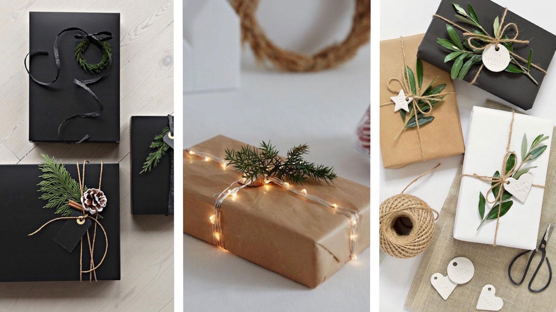 Geschenke Verpacken Ideen Fur Schon Verpackte Weihnachtsgeschenke