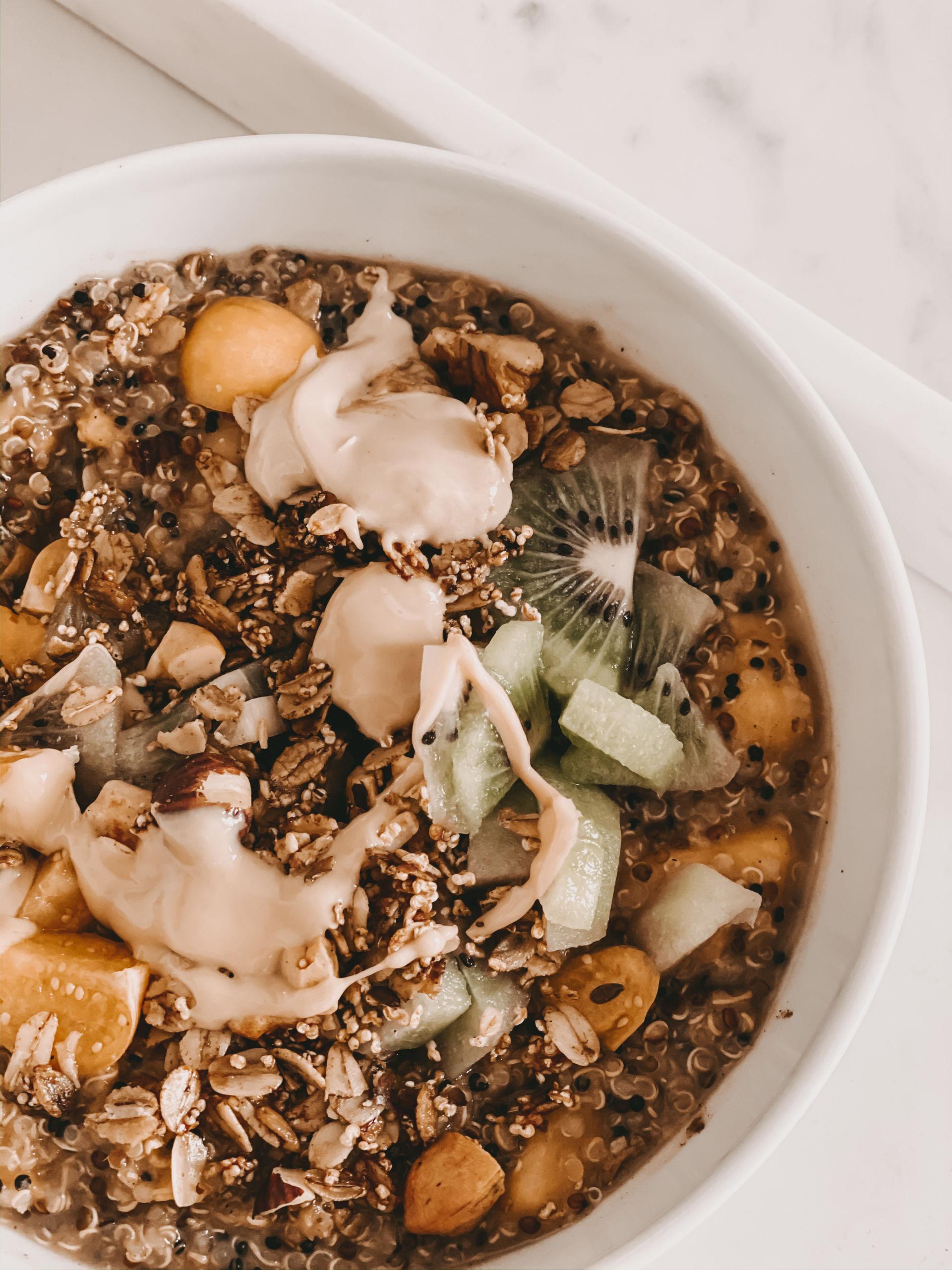 Rezept für Mango Quinoa Bowl