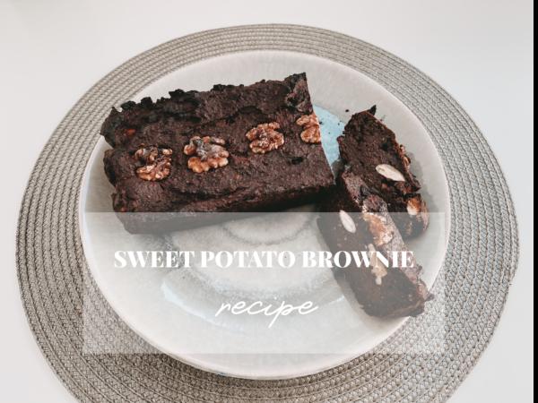 sweet potato brownie Rezept