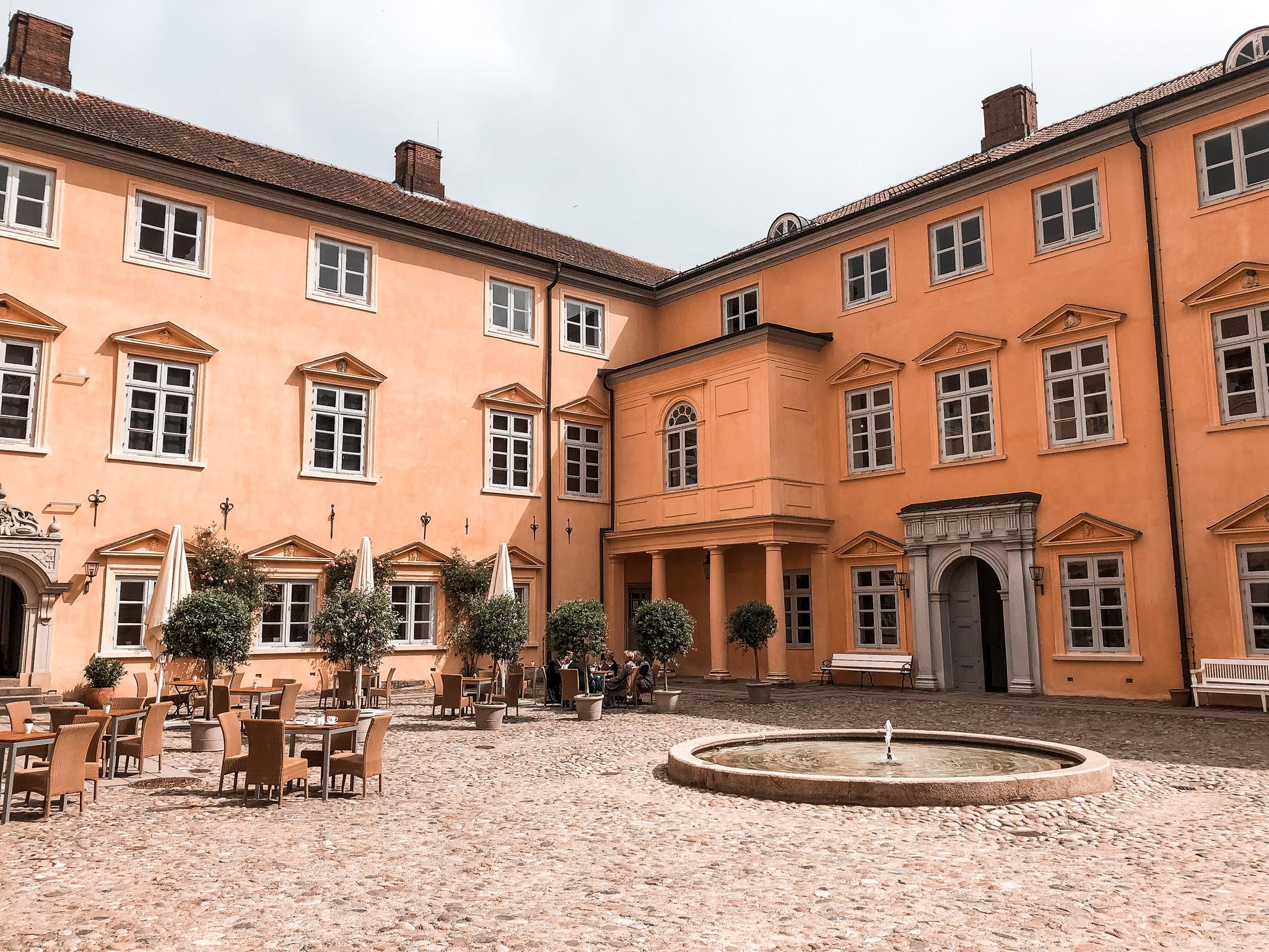 Innenhof Schloss Eutin