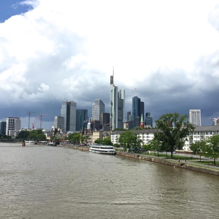 Frankfurt, Skyline, Main