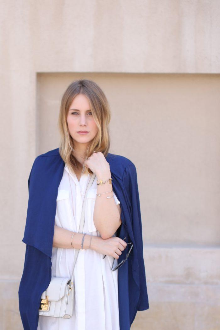 Blond Fashionblogger aus Hamburg in Dubai