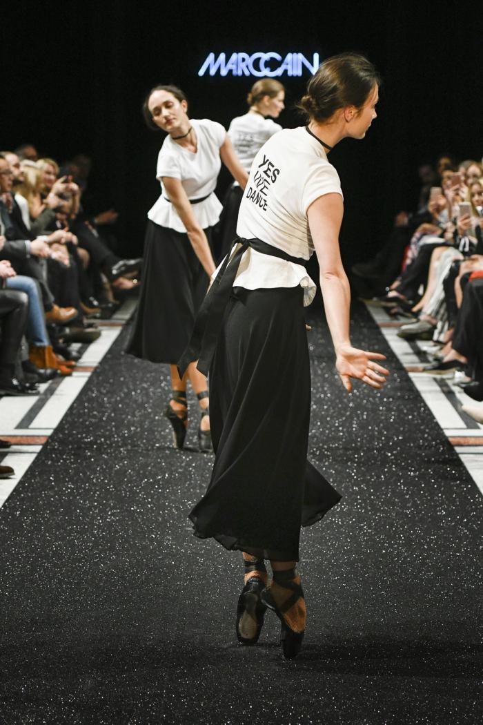 Marc Cain Show, Berlin Fashion Week, Tänzerinnen