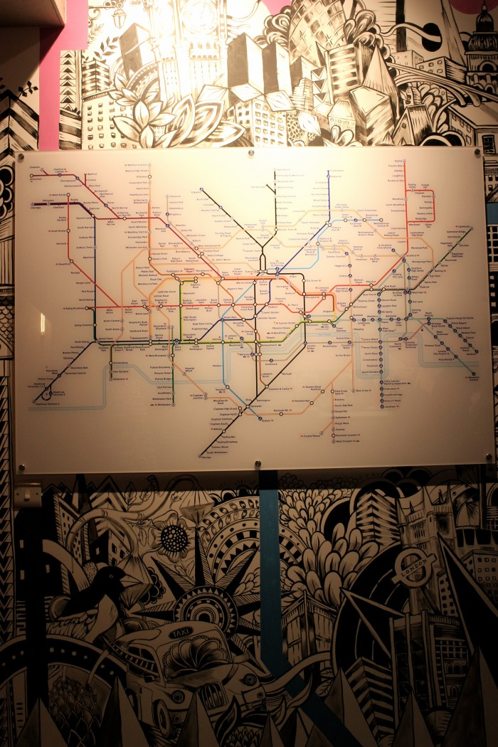 Metro fahrplan in London